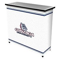 Gonzaga Bulldogs 2-Shelf Portable Bar with Case