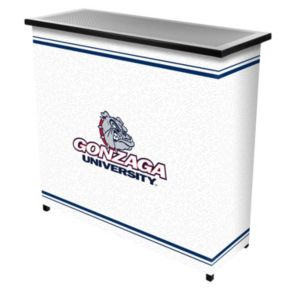 Gonzaga Bulldogs 2-Shelf Portable Bar with Case