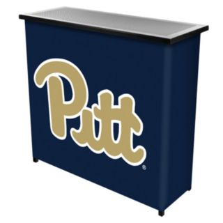 Pitt Panthers 2-Shelf Portable Bar with Case