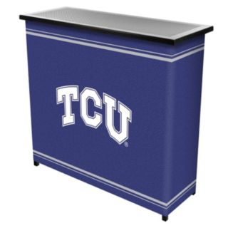 TCU Horned Frogs 2-Shelf Portable Bar with Case