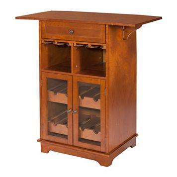 Peoria 8-Bottle Wine Storage Cabinet