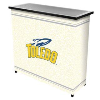 Toledo Rockets 2-Shelf Portable Bar with Case