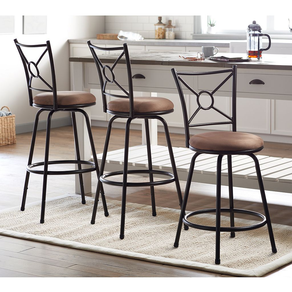 SONOMA Goods for Life™ Lowell 3-pc. Adjustable Stool Set