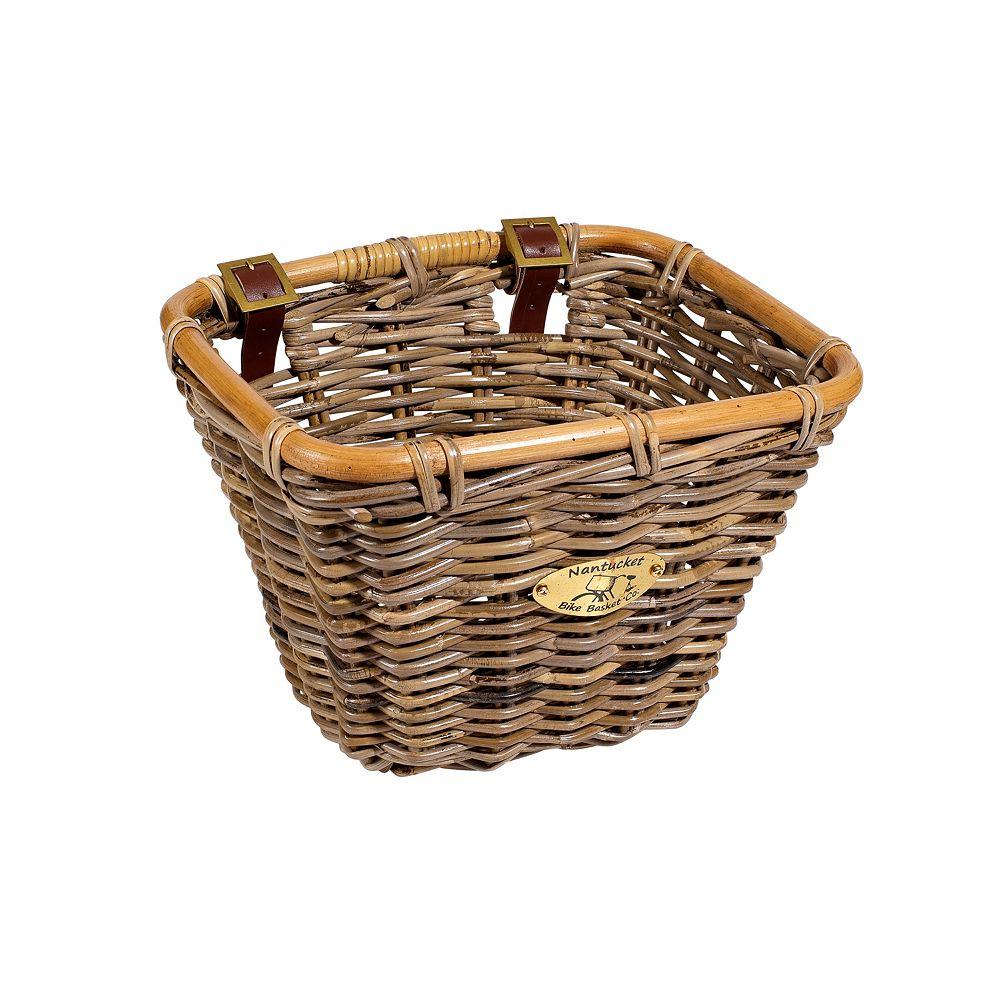 Nantucket Bicycle Basket Co. Tuckernuck Rectangle Bike Basket