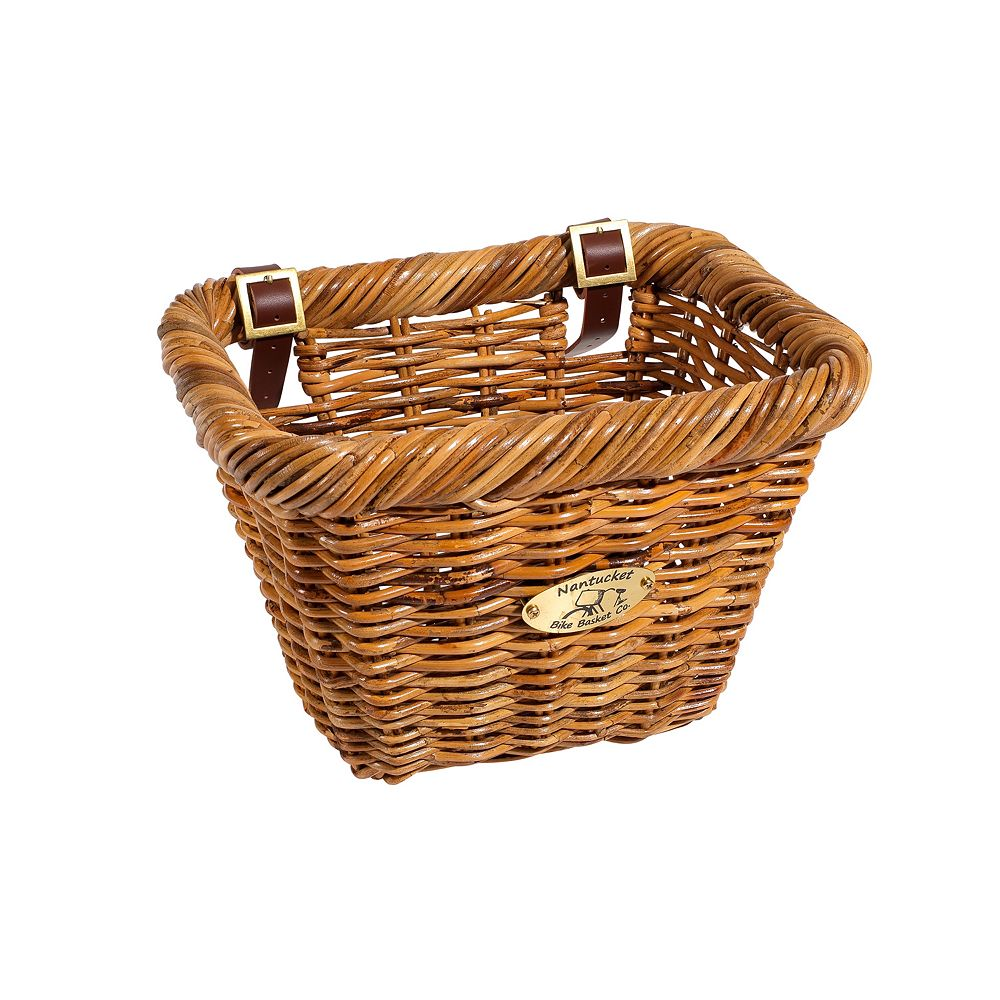 Nantucket Bicycle Basket Co. Cisco Rectangle Bike Basket