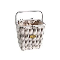 Nantucket Bicycle Basket Co. Cruiser Pannier Bike Basket & Hooks