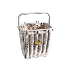 Nantucket Bicycle Basket Co. Cruiser Pannier Bike Basket & Hooks