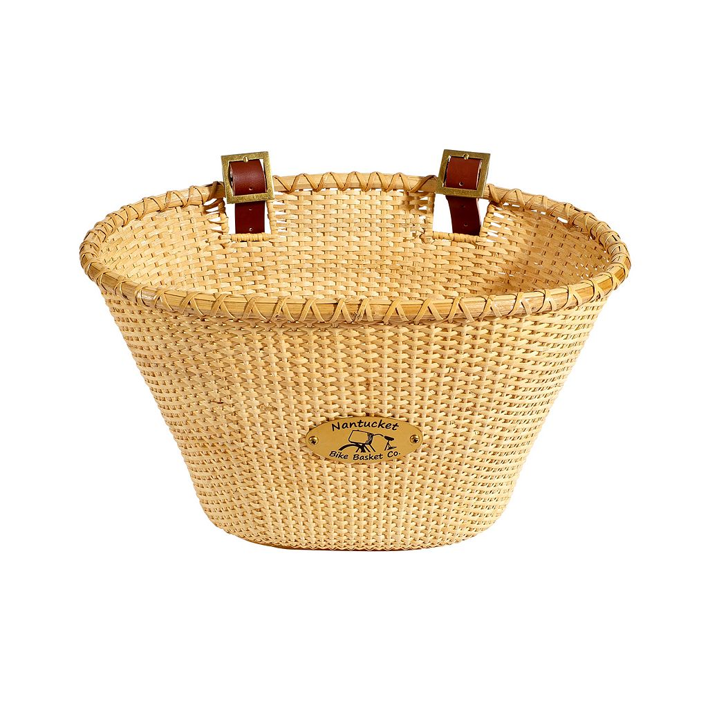Nantucket Bicycle Basket Co. Lightship Adult Oval Bike Basket