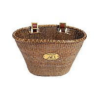 Nantucket Bicycle Basket Co. Lightship Stained Oval Bike Basket