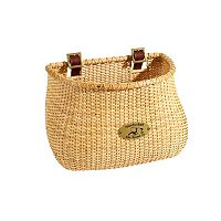 Nantucket Bicycle Basket Co. Lightship Natural Classic Tapered Bike Basket