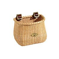 Kids Nantucket Bicycle Basket Co. Lightship Natural Classic Tapered Bike Basket