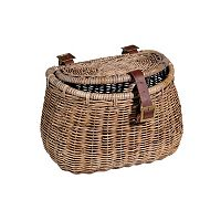 Nantucket Bicycle Basket Co. Madaket Creel Bike Basket & Lid