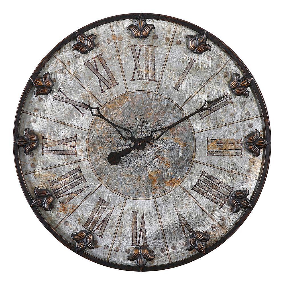 Uttermost Artemis Antique Wall Clock
