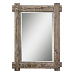 Claudio Beveled Wood Wall Mirror