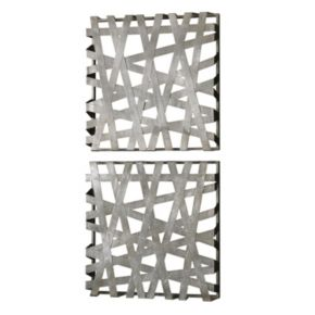 Alita Square 2-piece Wall Art Set