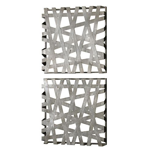 Uttermost Alita Square 2-piece Wall Art Set