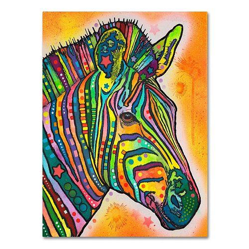 "47"" x 35"" ""Zebra"" Canvas Wall Art"