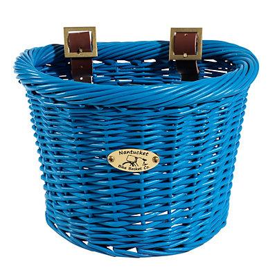 Kids Nantucket Bicycle Basket Co. Buoy D-Shape Bike Basket