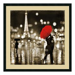 ''A Paris Kiss'' Framed Wall Art