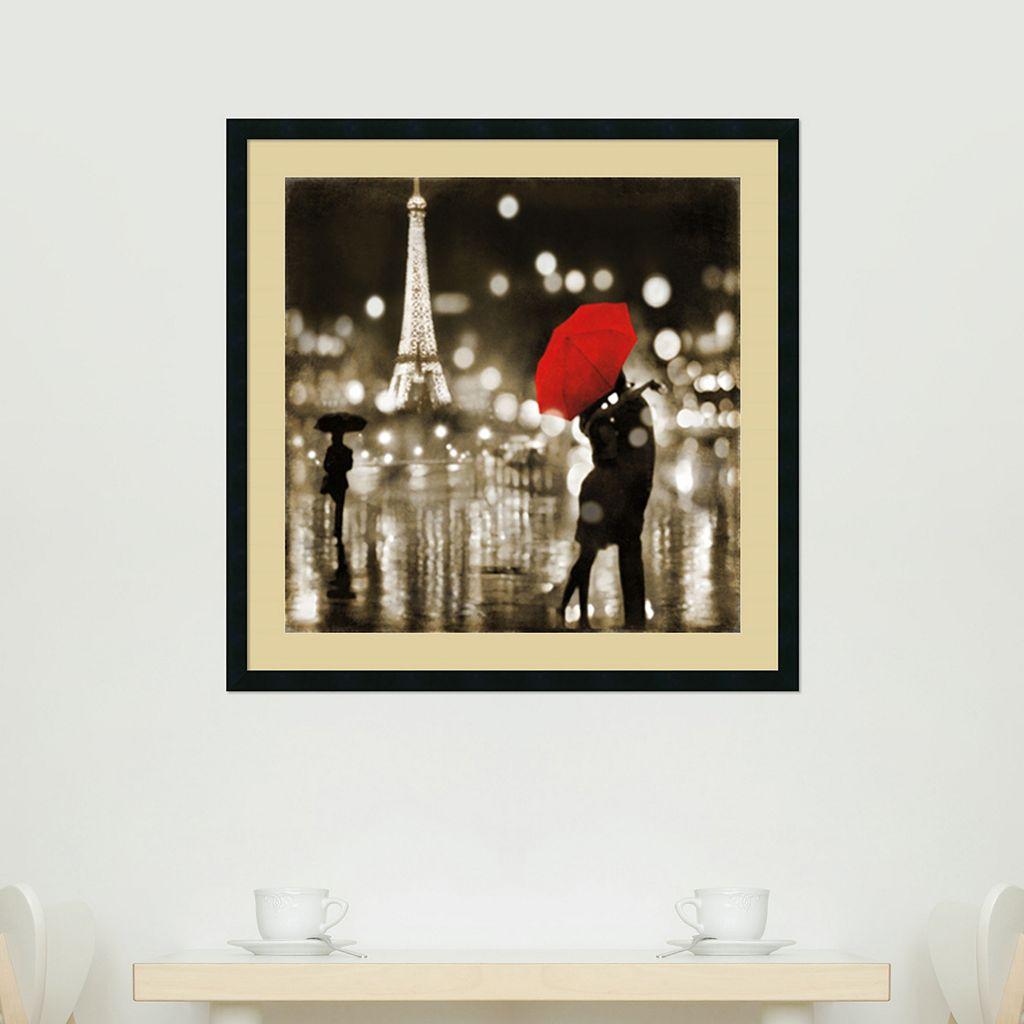 ''A Paris Kiss'' Framed Wall Art