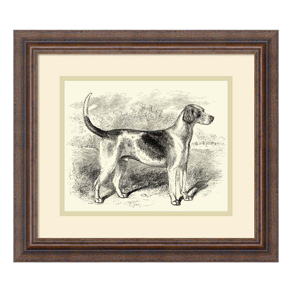''Foxhound'' Framed Wall Art