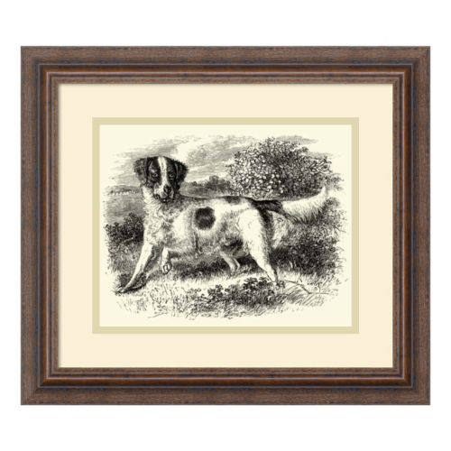 ''English Setter'' Framed Wall Art