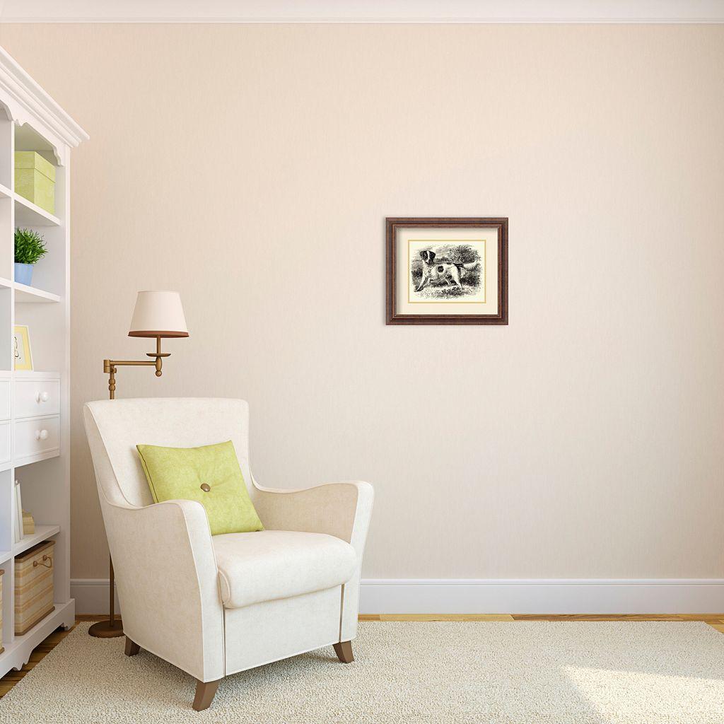 ''English Setter'' Framed Wall Art