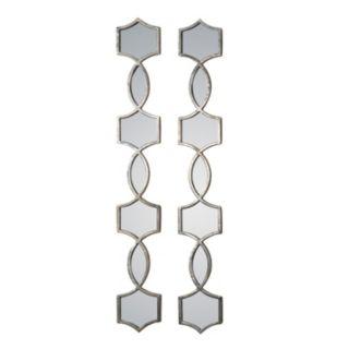 Uttermost Vinzela 2-Piece Metal Wall Mirror Set