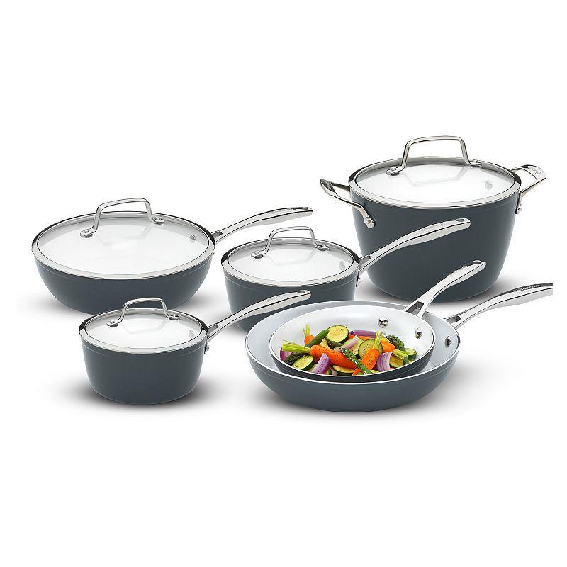 Bialetti Aeternum Fabio Viviani Signature Series 10-pc. Ceramic Nonstick Cookware Set