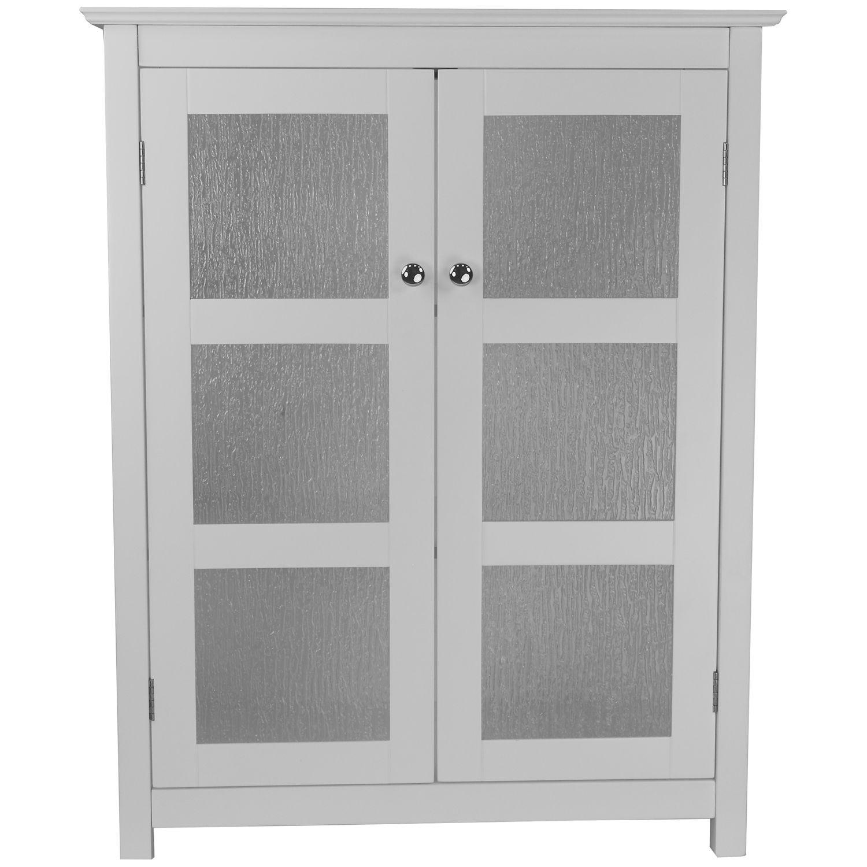 Elegant Home Fashions Rose Linen Cabinet. (1). Sale