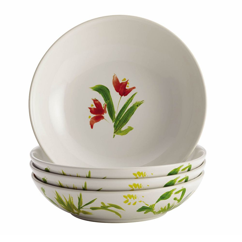 BonJour Meadow Rooster 4-pc. Bowl Set