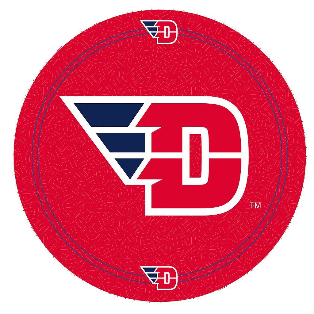 Dayton Flyers Padded Swivel Bar Stool with Back