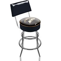 Western Michigan Broncos Padded Swivel Bar Stool with Back
