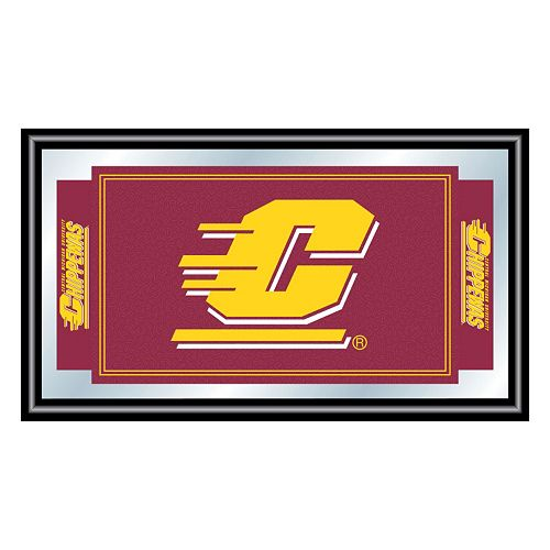 Central Michigan Chippewas Framed Logo Wall Art