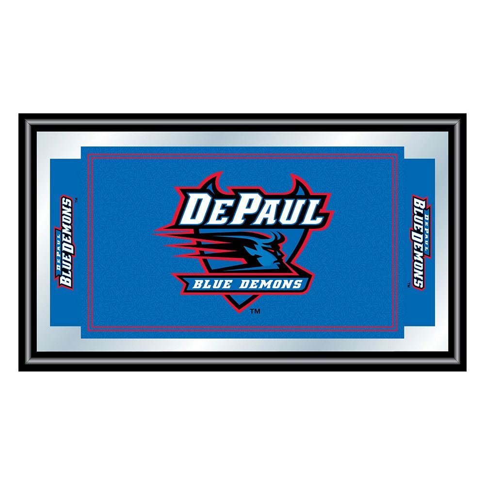 DePaul Blue Demons Framed Logo Wall Art