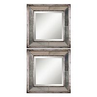 Davion 2 pc Square Wall Mirror Set