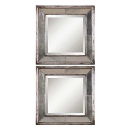Davion 2-piece Square Wall Mirror Set