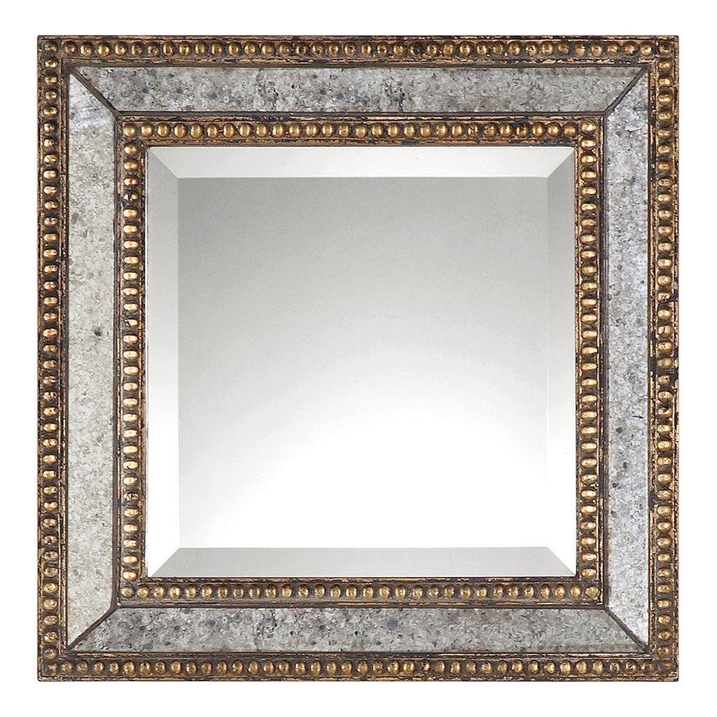 Norlina 2-piece Square Distressed Wall Mirror Set