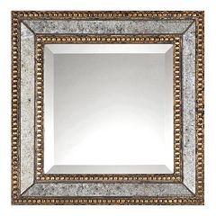 Norlina 2-piece Square Distressed Wall Mirror Set