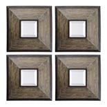 Fendrel Square 4-piece Wall Mirror Set