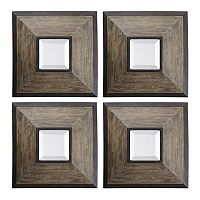 Fendrel Square 4-piece Wall Mirror Set
