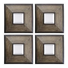 Fendrel Square 4 pc Wall Mirror Set