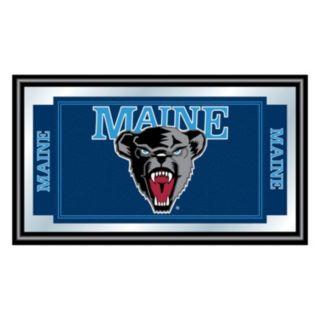 Maine Black Bears Framed Logo Wall Art