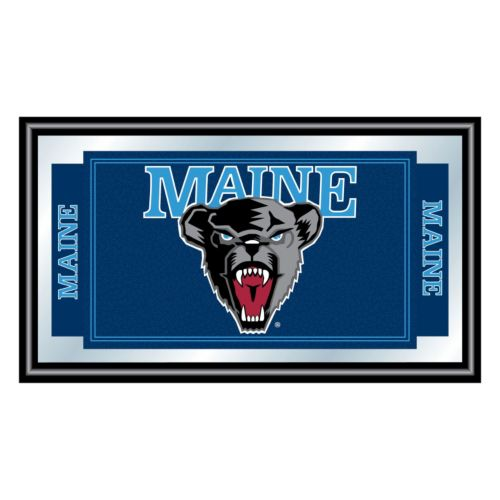 Maine Black Bears Framed Logo Wall Art