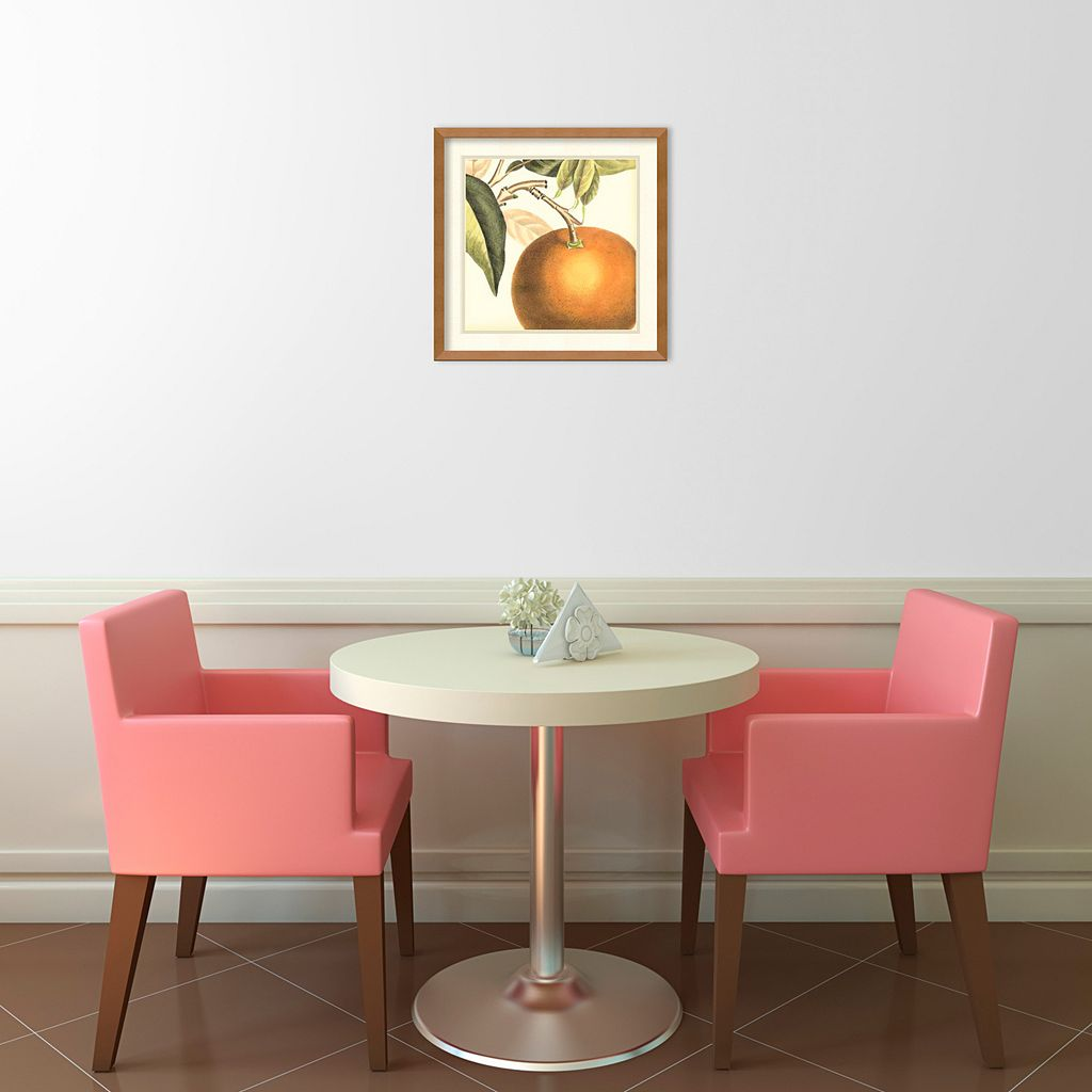 ''Orange'' Framed Wall Art