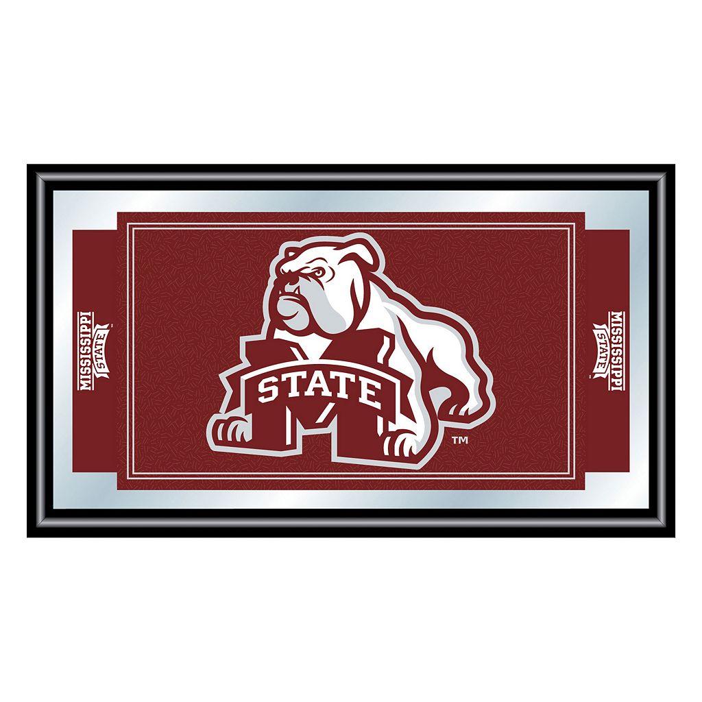 Mississippi State Bulldogs Framed Logo Wall Art