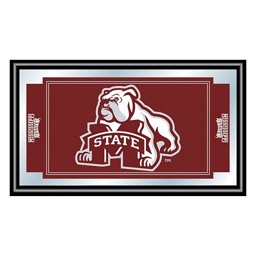 Mississippi State Bulldogs Framed Logo Wall Art