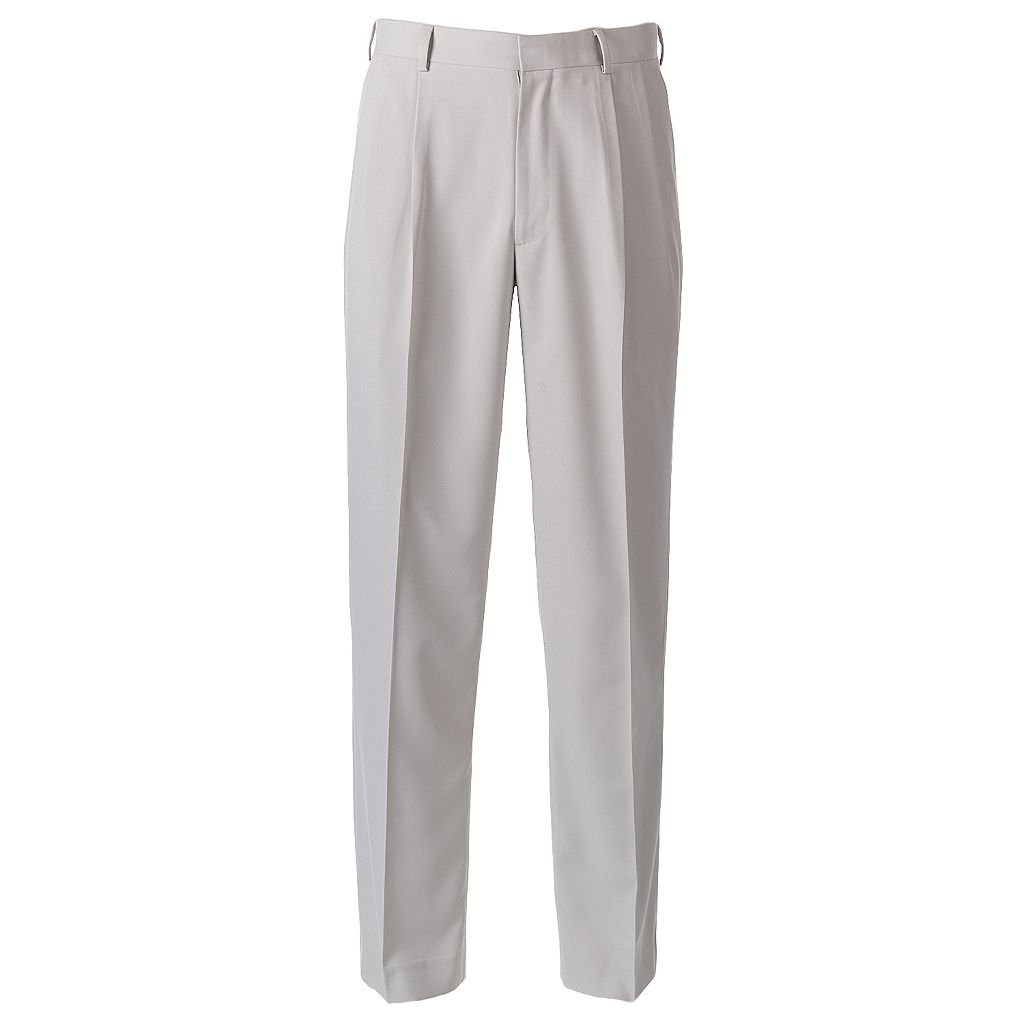 Men's Grand Slam Ultimate Classic-Fit Performance Stretch Pleated Golf Pants