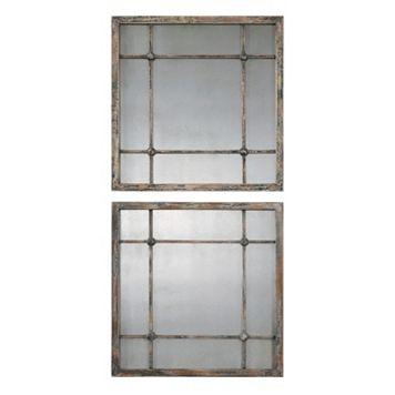Saragano 2-piece Square Wall Mirror Set