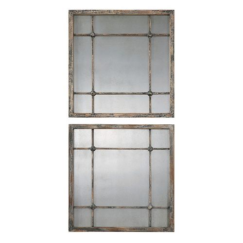 Saragano 2-piece Square Wall Mirror Set